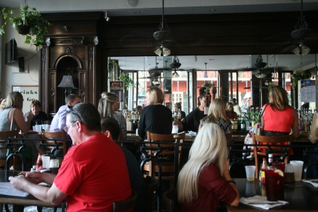 Restaurant on Jackson Square (by author)